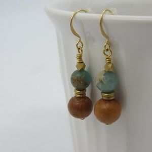 Tracey Beaded Dangle World Changing Earrings